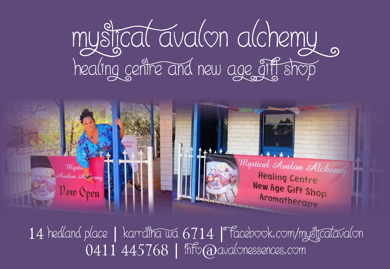 Mystical Avalon Alchemy | 14 Hedland Place | Karratha | WA 6714